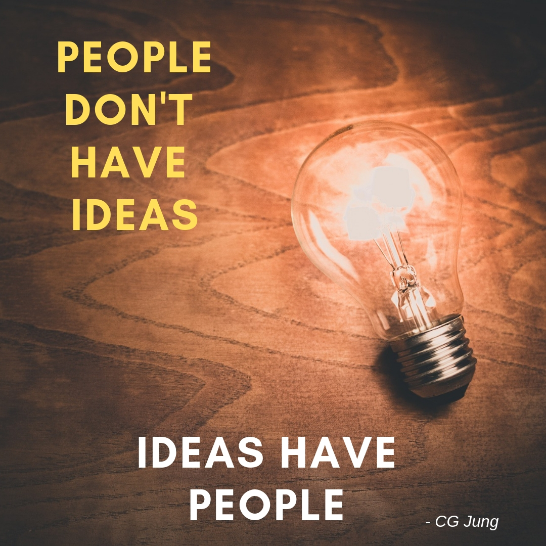 Ideas have people